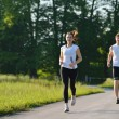 Couple jogging — Stockfoto #16789667
