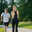 Couple jogging — Stock Photo #16789863