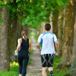 Couple jogging — Stock Photo #16790701