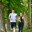 jogging couple — Photo #16790711