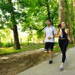 Couple jogging — Stock Photo #16790885