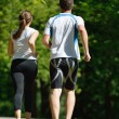 Couple jogging — Stock Photo #16791141