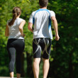 Couple jogging - Photo
