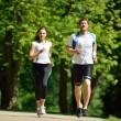 Couple jogging — Stock Photo #16791193