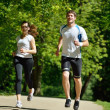 Couple jogging — Stock Photo #16791203