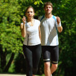 Couple jogging — Stock Photo #16791251