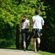 Couple jogging — Stock Photo #16791259