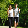 Couple jogging — Stock Photo #16791283