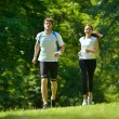 Couple jogging — Stock Photo #16791303