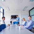 Business in a meeting at office — Stock Photo #16942025