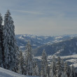 Mountain winter landscape — Stock Photo #18097361