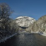 Mountain winter landscape — Stock Photo #18098507