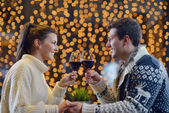 Romantisk kväll datum — Stockfoto