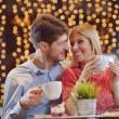 Romantic evening date — Stock Photo #19423669