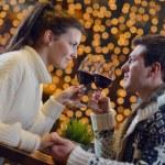 Romantic evening date — Stock Photo #19454275