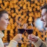 Romantic evening date — Stock Photo #19457845