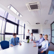 Stock Photo: Business in a meeting at office