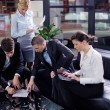 Business making deal — Stock Photo #19762505