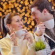 Foto Stock: Romantic evening date
