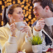 Romantic evening date — Stock Photo #19950077
