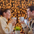 Romantic evening date — Stock Photo #19950905