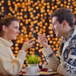 Romantic evening date — Stock Photo #19952097
