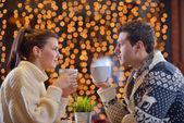 Romantik akşam tarihi — Stok fotoğraf