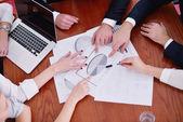 Företag i ett möte på kontoret — Stockfoto