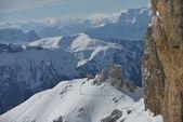 Mountain winter nature — Stock Photo
