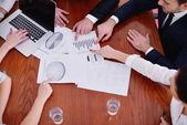 Biznes w spotkaniu w urzędzie — Zdjęcie stockowe