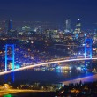 Stock Photo: Istanbul Turkey Bosporus Bridge