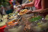 Açık büfe yemek — Stok fotoğraf