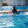 Swimmer woman — Stock Photo #24705761