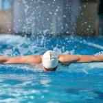 Swimmer — Stock Photo