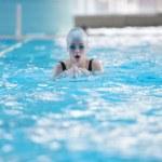 Swimmer woman — Stock Photo #24705815