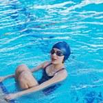 Swimmer woman — Stock Photo #24706307