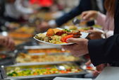 Buffet food — Stockfoto