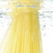 Pasta cooking in water — Stock Photo #2665982