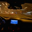 Night car driving — Stock Photo #27469809