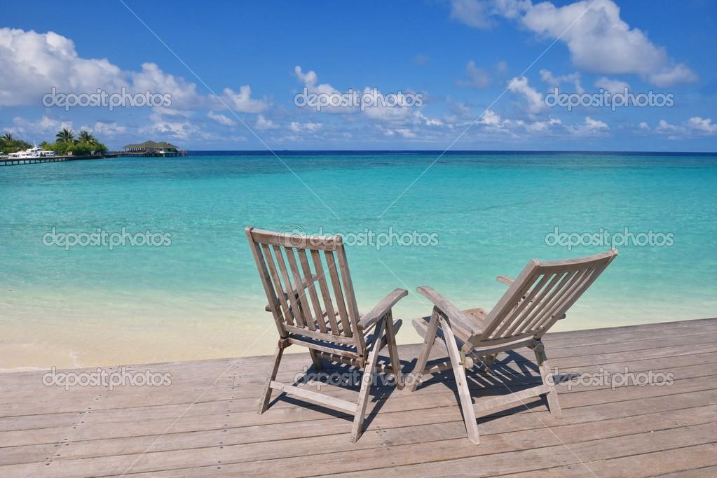 Tropical Beach Chairs Tropical beach ...