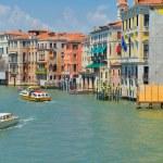 Venice, View from Rialto Bridge. Italy. — Stock Photo #33741985