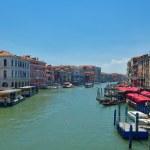 Venice, View from Rialto Bridge. Italy. — Stock Photo #33742065