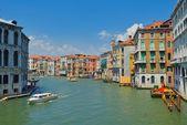Venice, View from Rialto Bridge. Italy. — Stock Photo