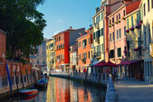 The architecture of the old Venice. Italy — Stock Photo