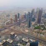 Dubai skyline — Stock Photo #33834553
