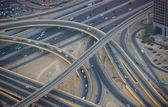 Dubai city main road — Stock Photo