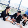Business people group in a meeting at office — Foto de Stock