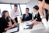 Business people group in a meeting at office — Stock Photo