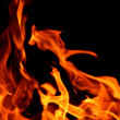 Stock Photo: Blaze fire flame texture background