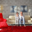 Couple relax at home — Stock Photo #41372711